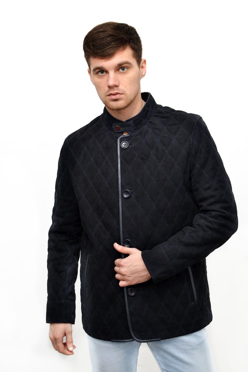 Кожаная замшевая куртка