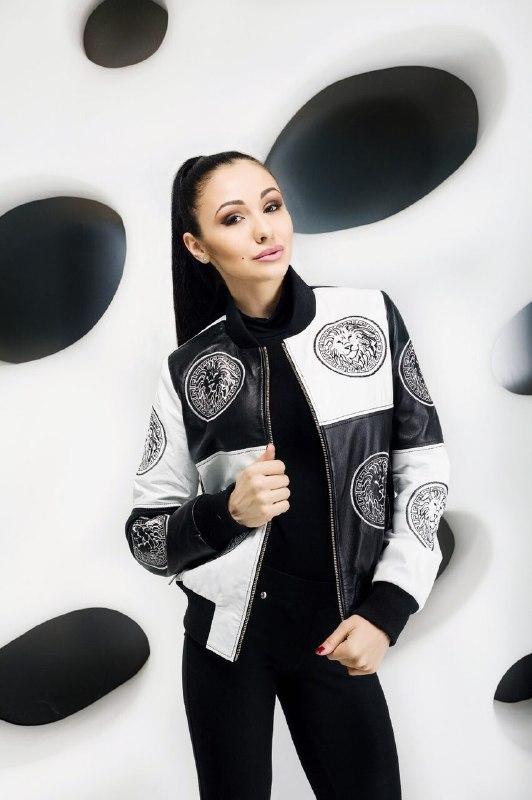 Женская куртка из натуральной кожиZ-3104