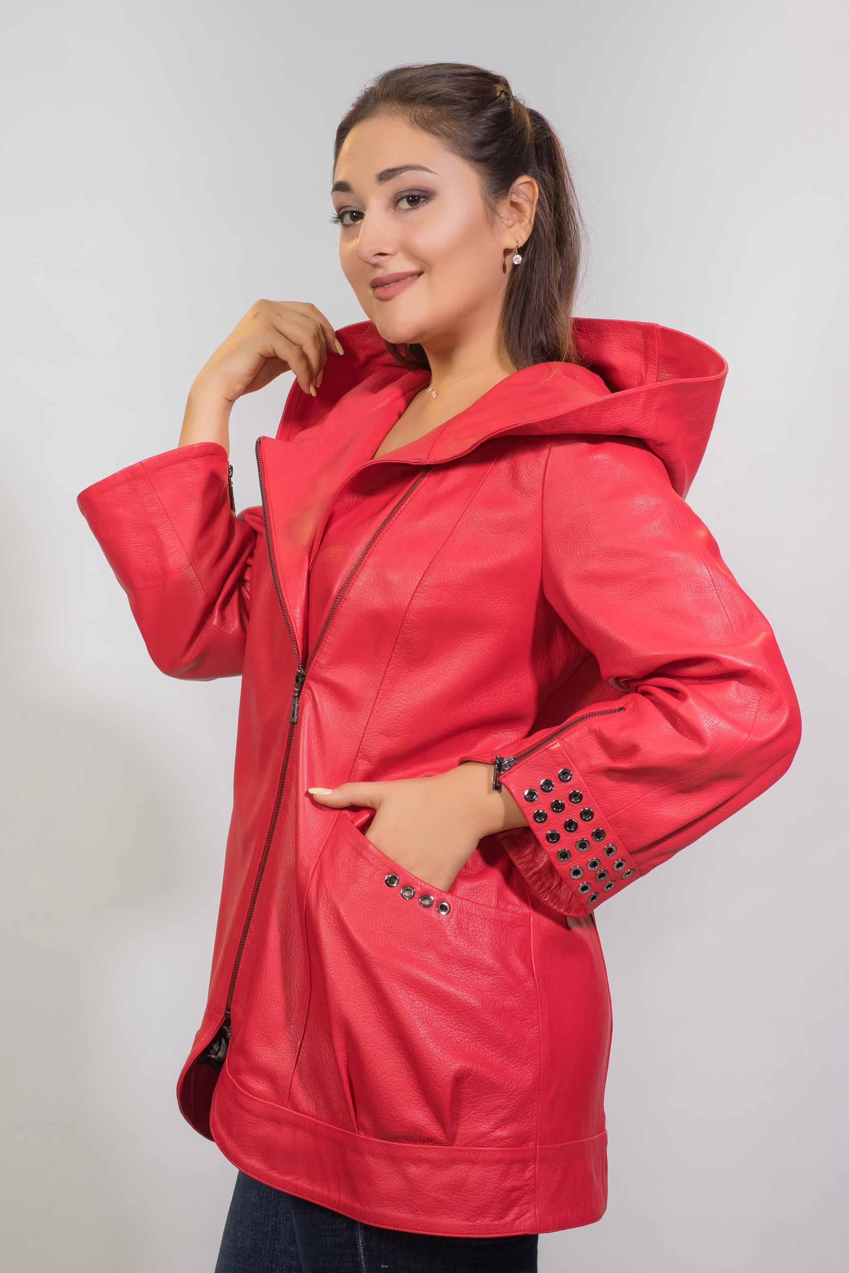 Женская Кожаная куртка из натуральной кожиZ-3232