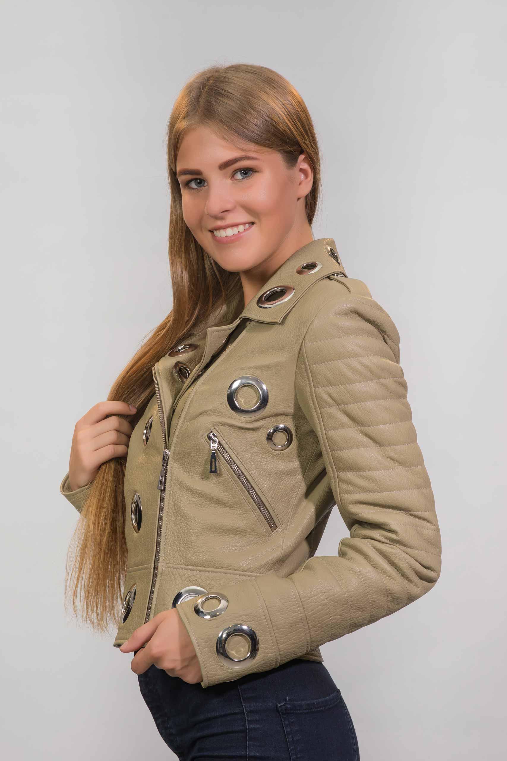 Женская Кожаная куртка из натуральной кожиZ-3051(1)