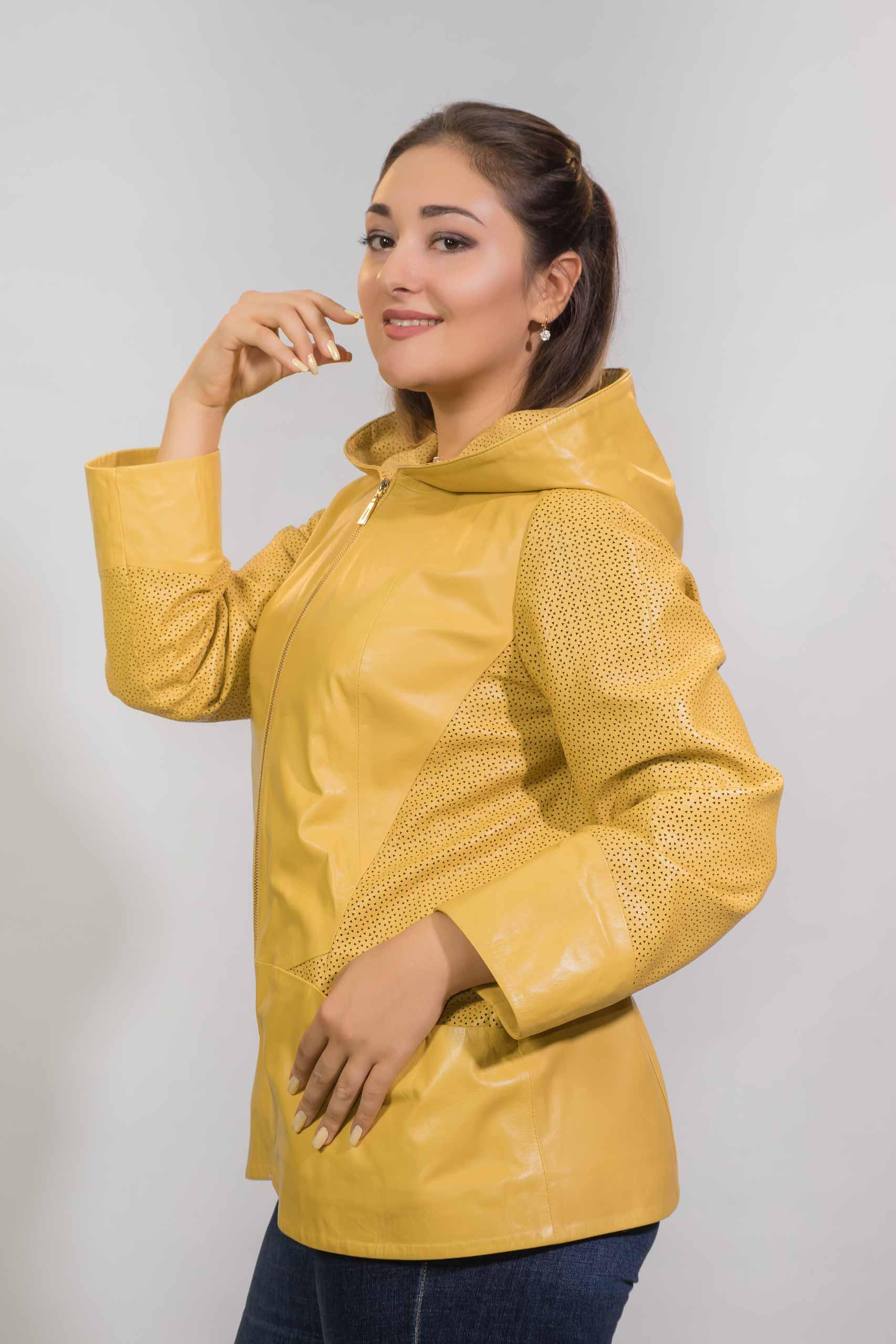 Женская Кожаная куртка из натуральной кожиZ-3233