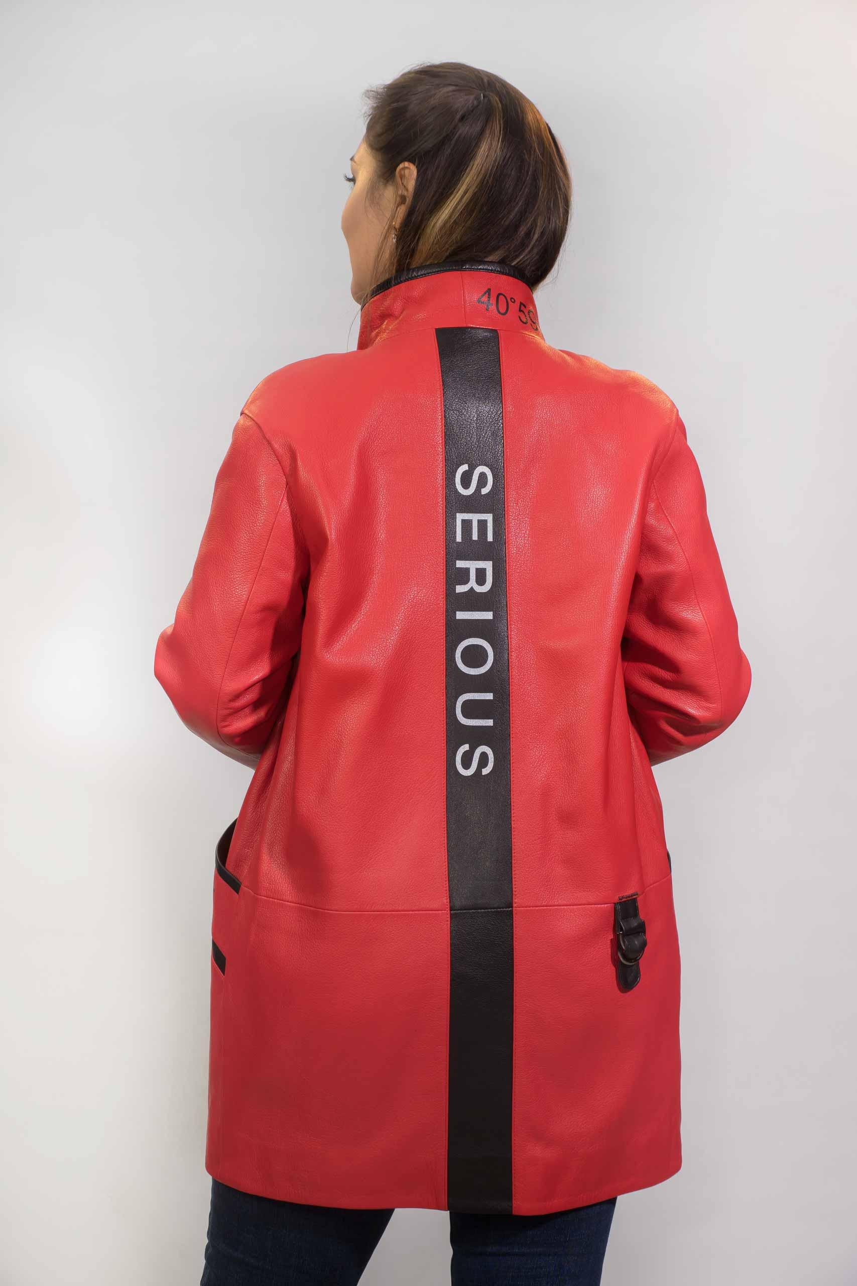 Женская Кожаная куртка из натуральной кожиZ-1871