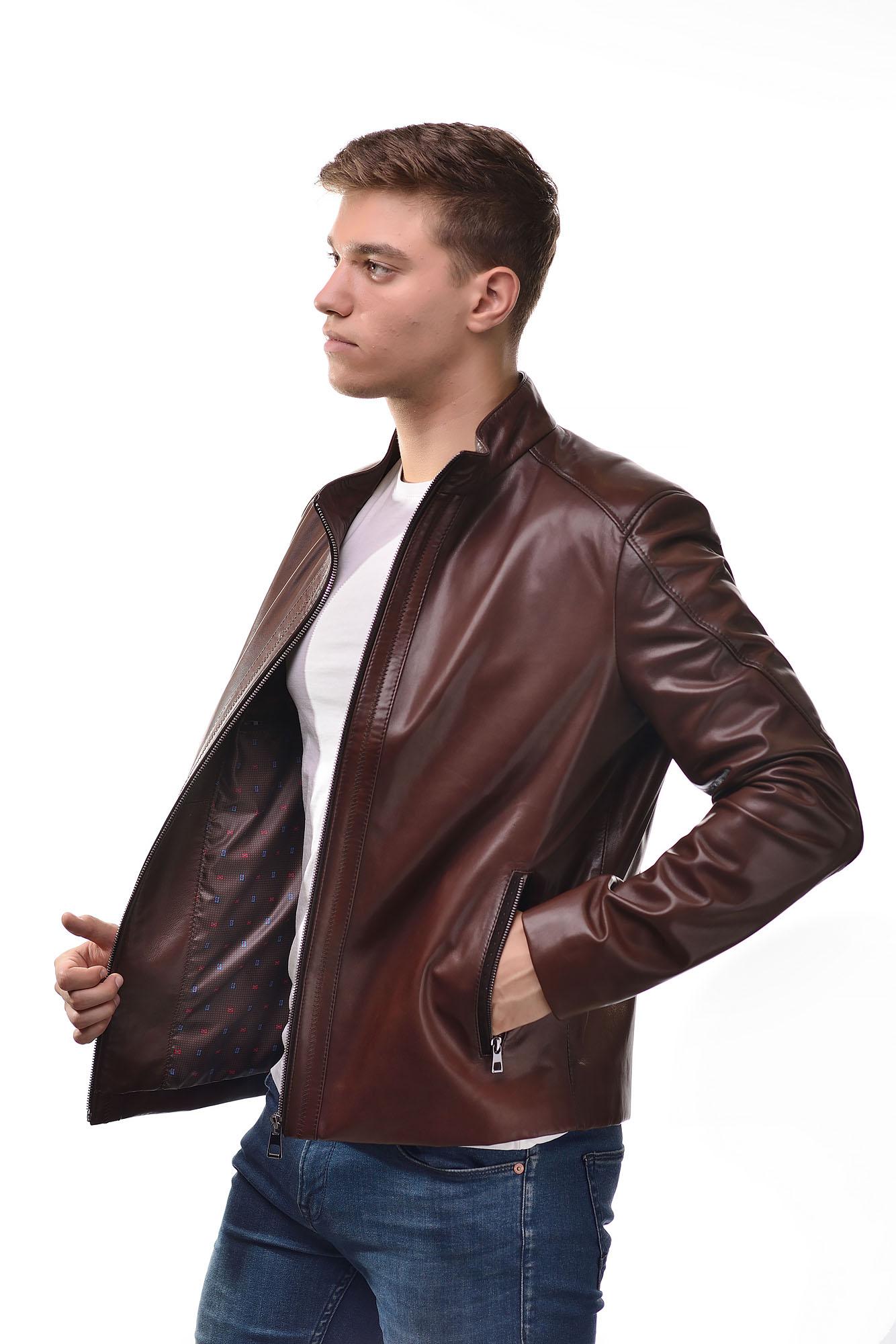 Мужская Кожаная куртка 6103