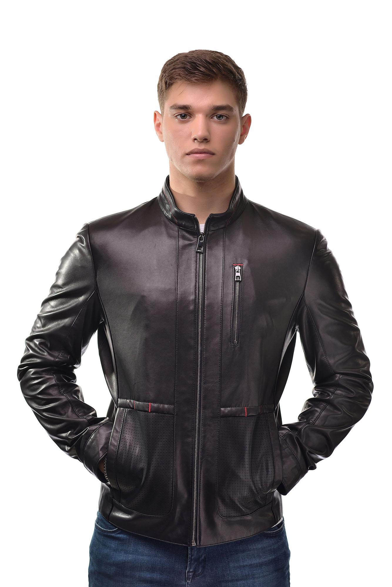 Мужская Кожаная куртка 6154