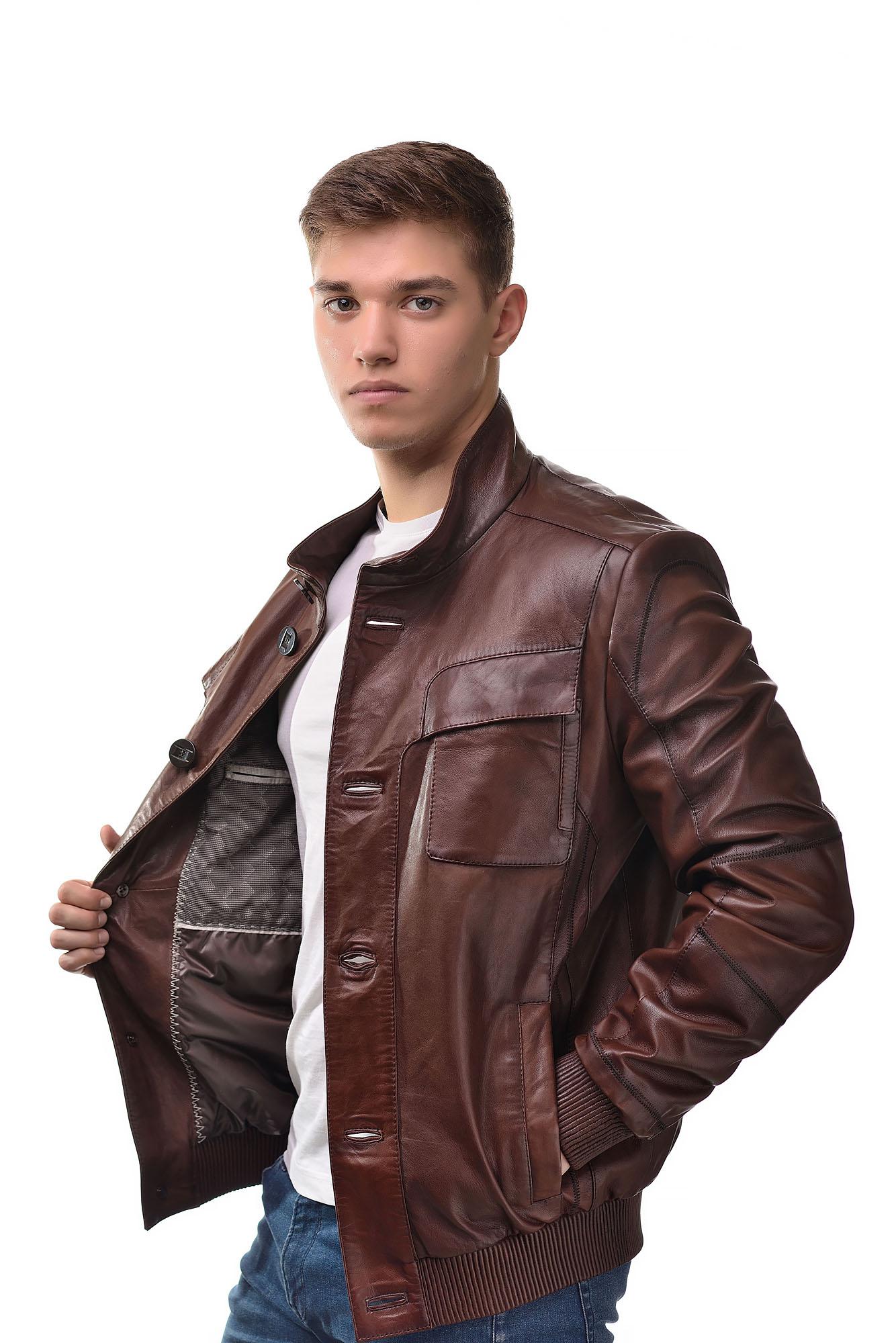 Мужская Кожаная куртка 3290