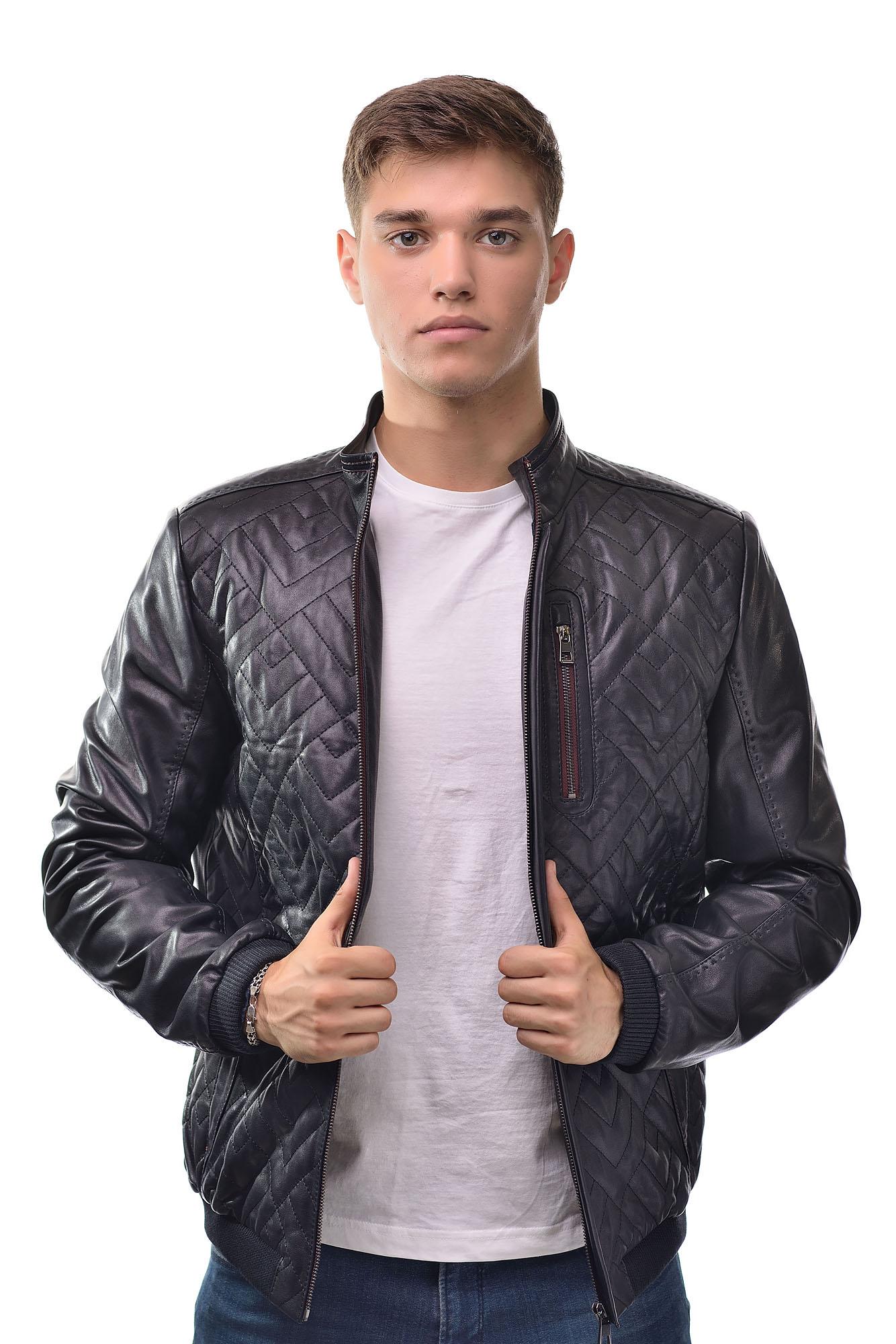 Мужская Кожаная куртка 6137