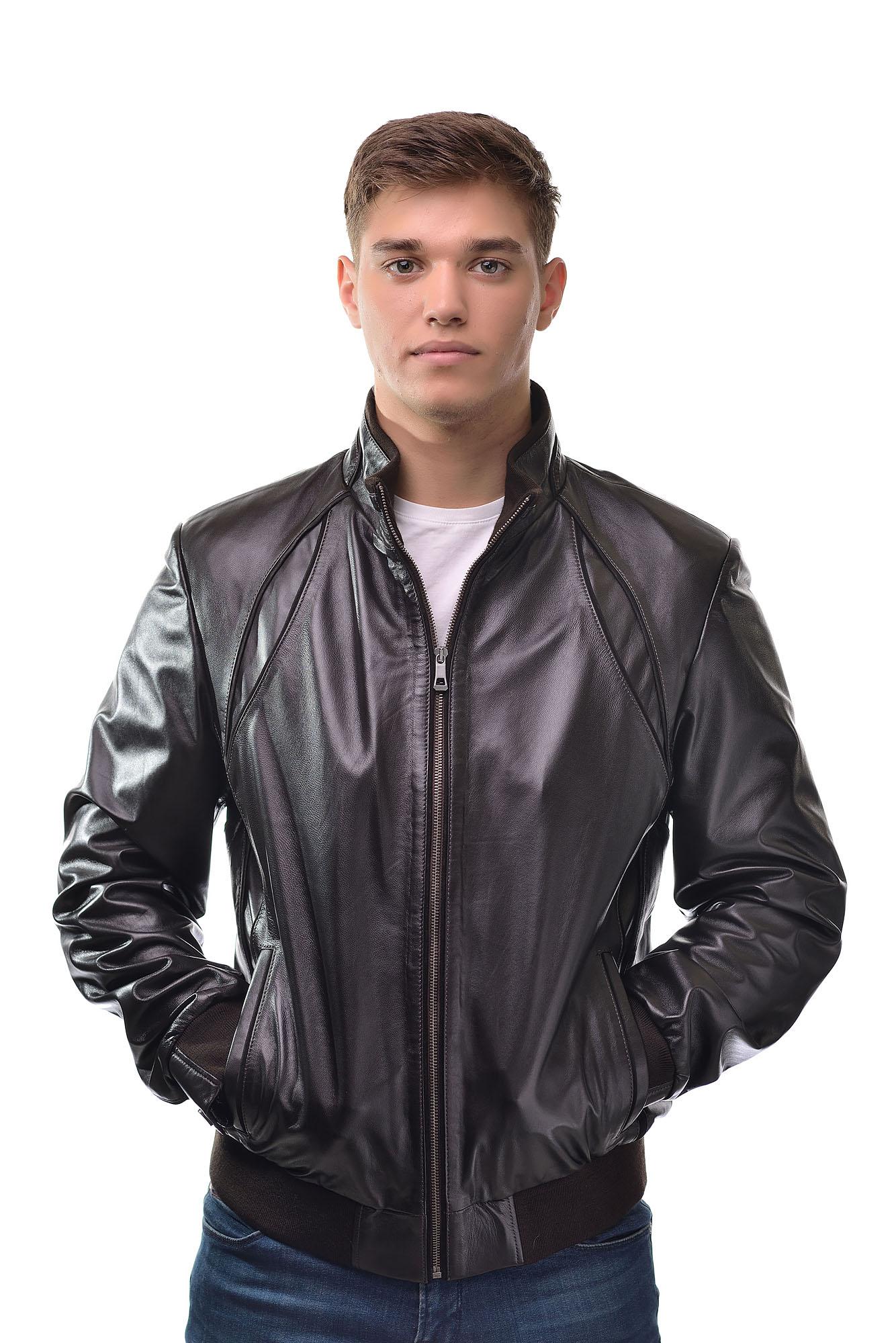 Мужская Кожаная куртка5047