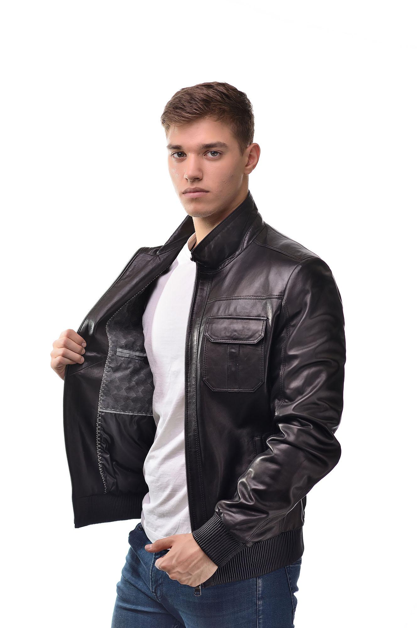 Мужская Кожаная курткаNK-004