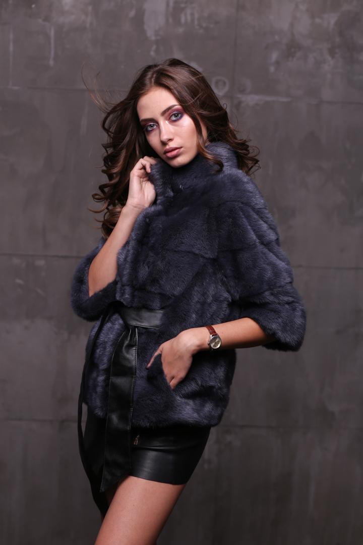 Женская норковая шуба2496-L