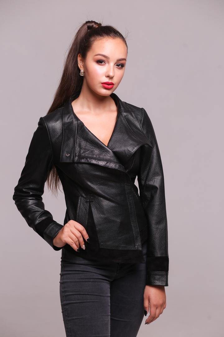Женская куртка из натуральной кожиZ-1894