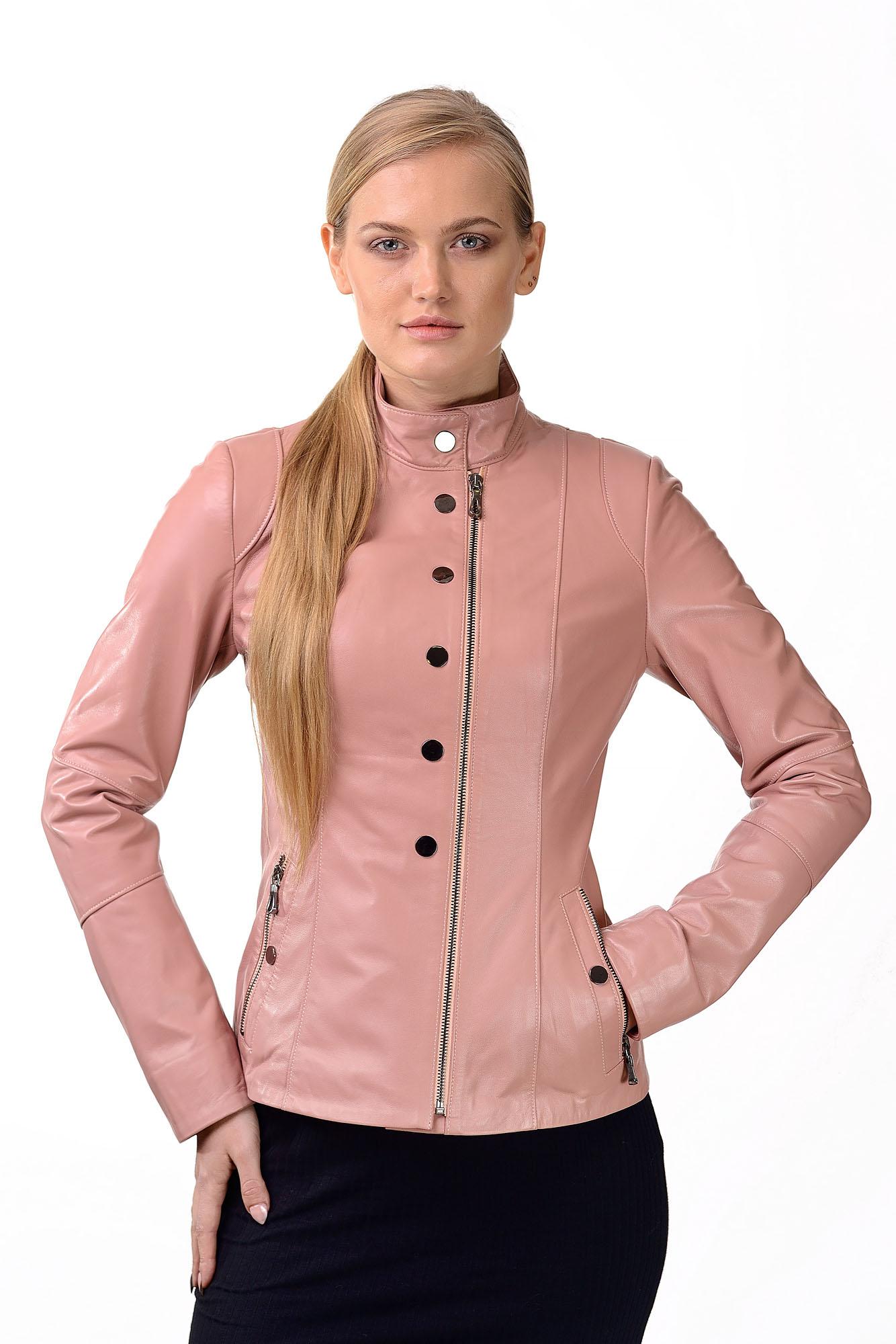 Женская кожаная курткаM=159