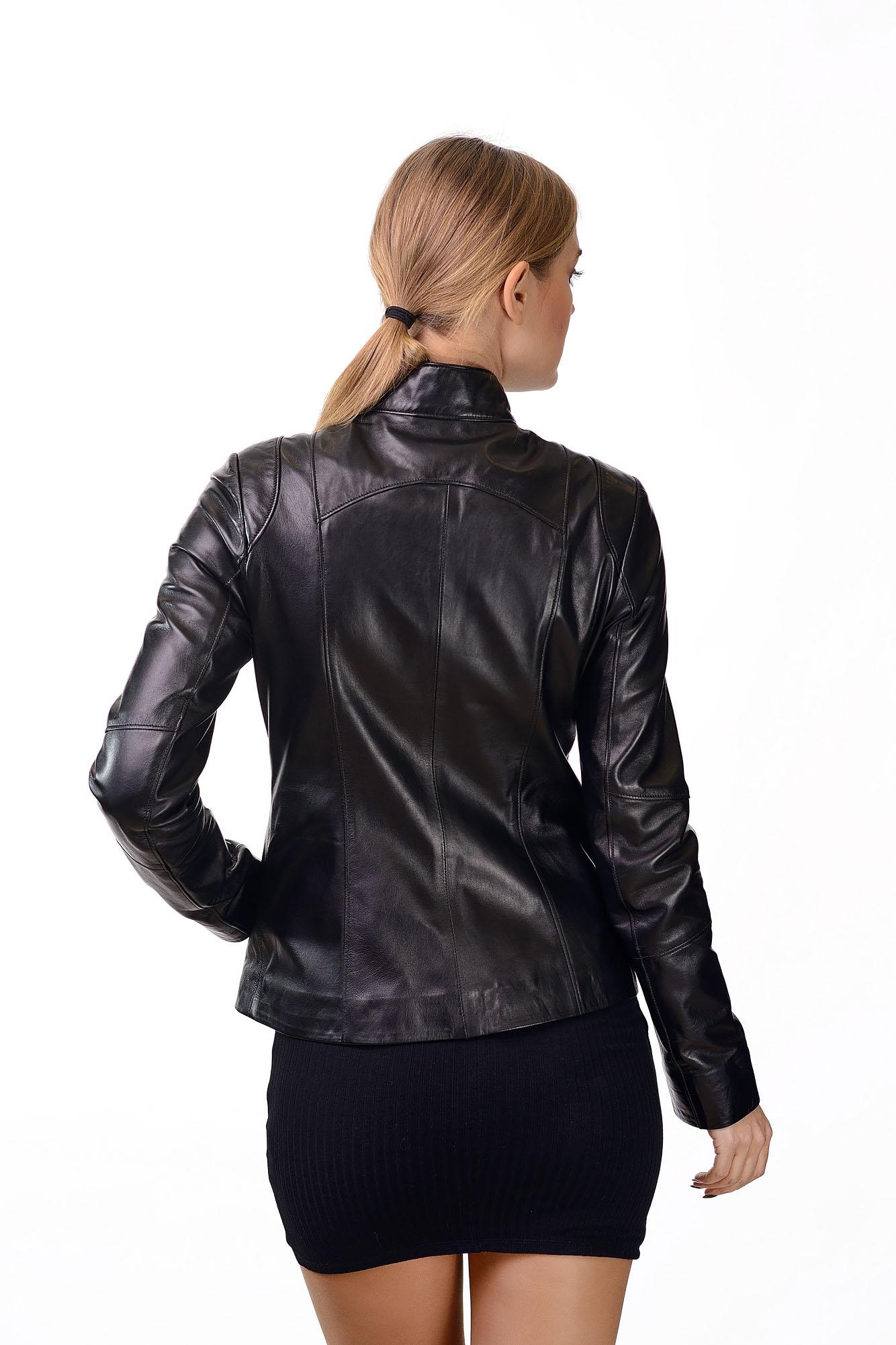 Женская кожаная курткаM=159(1)