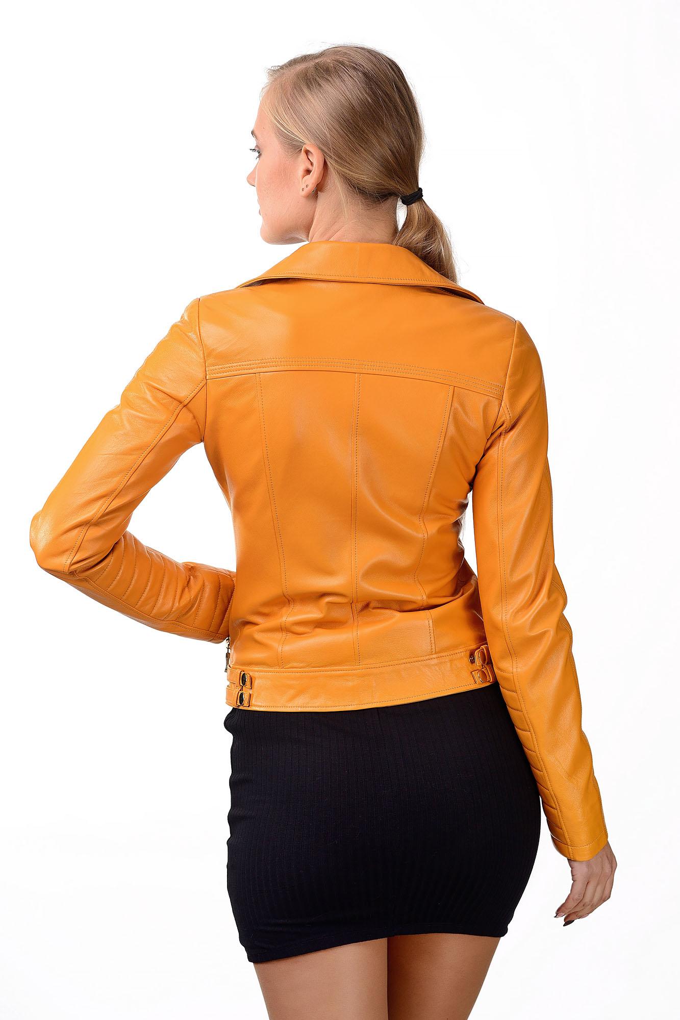 Женская кожаная куртка — косухаM=172