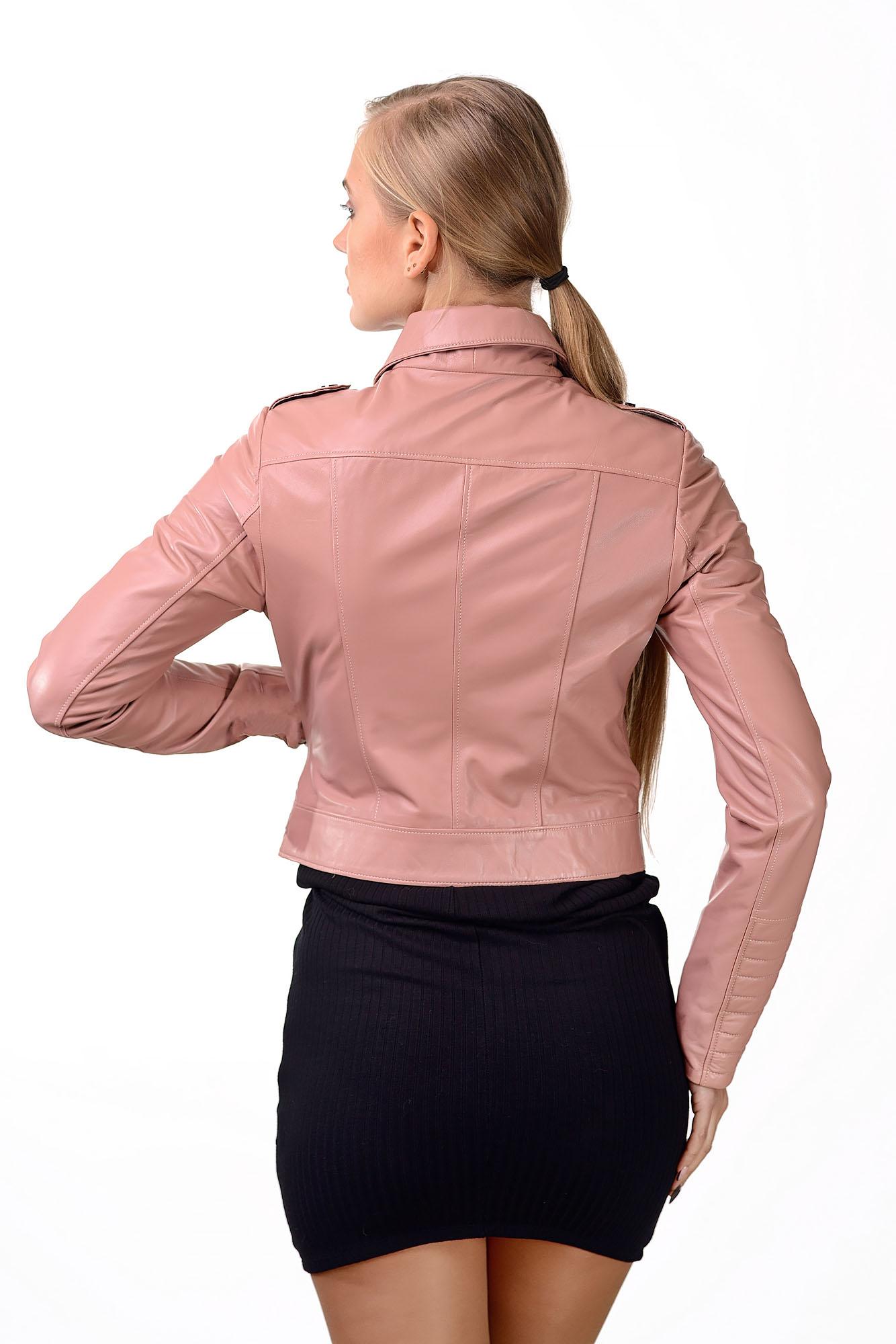 Женская кожаная куртка — косухаM=170
