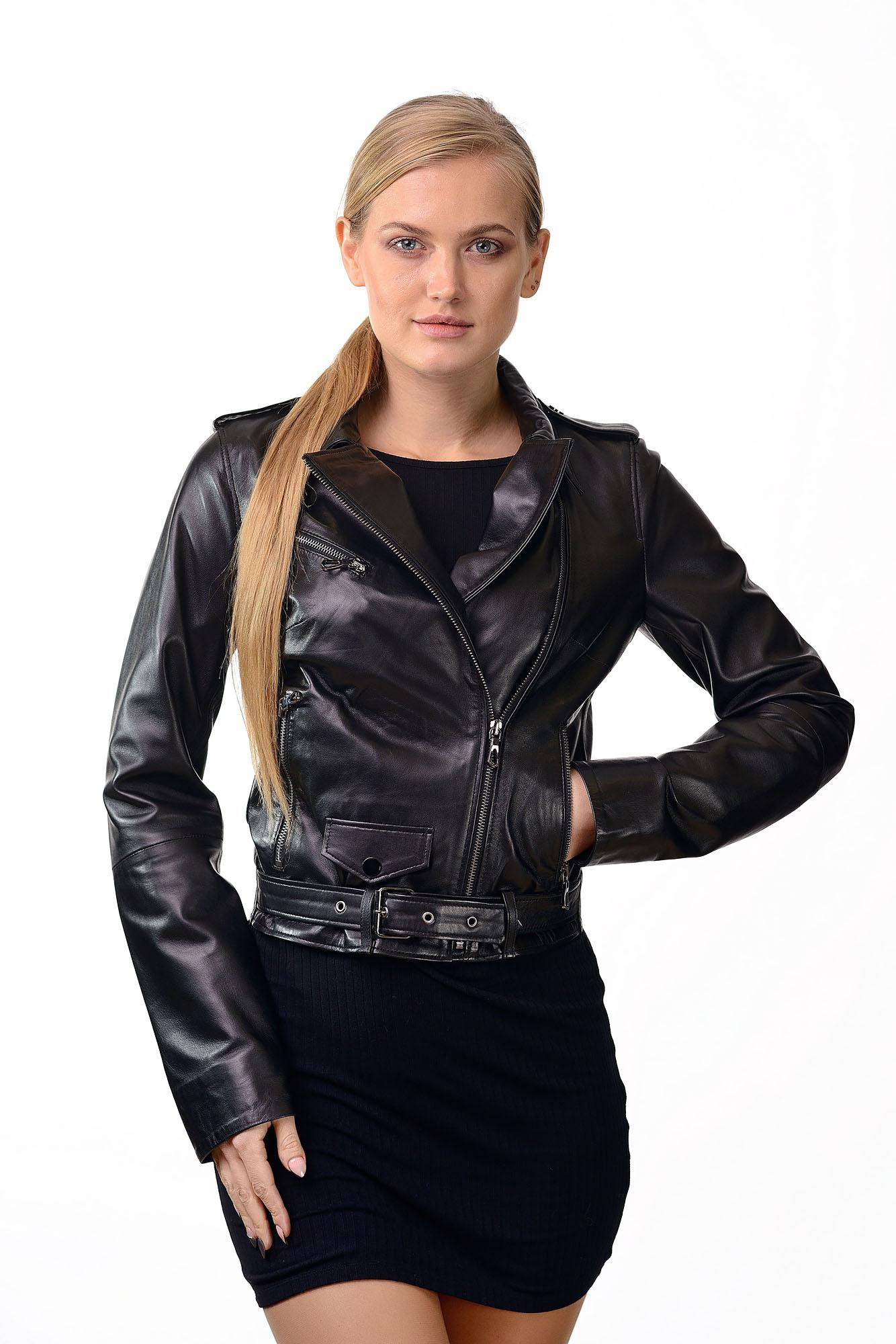 Женская кожаная куртка — косухаD=2229