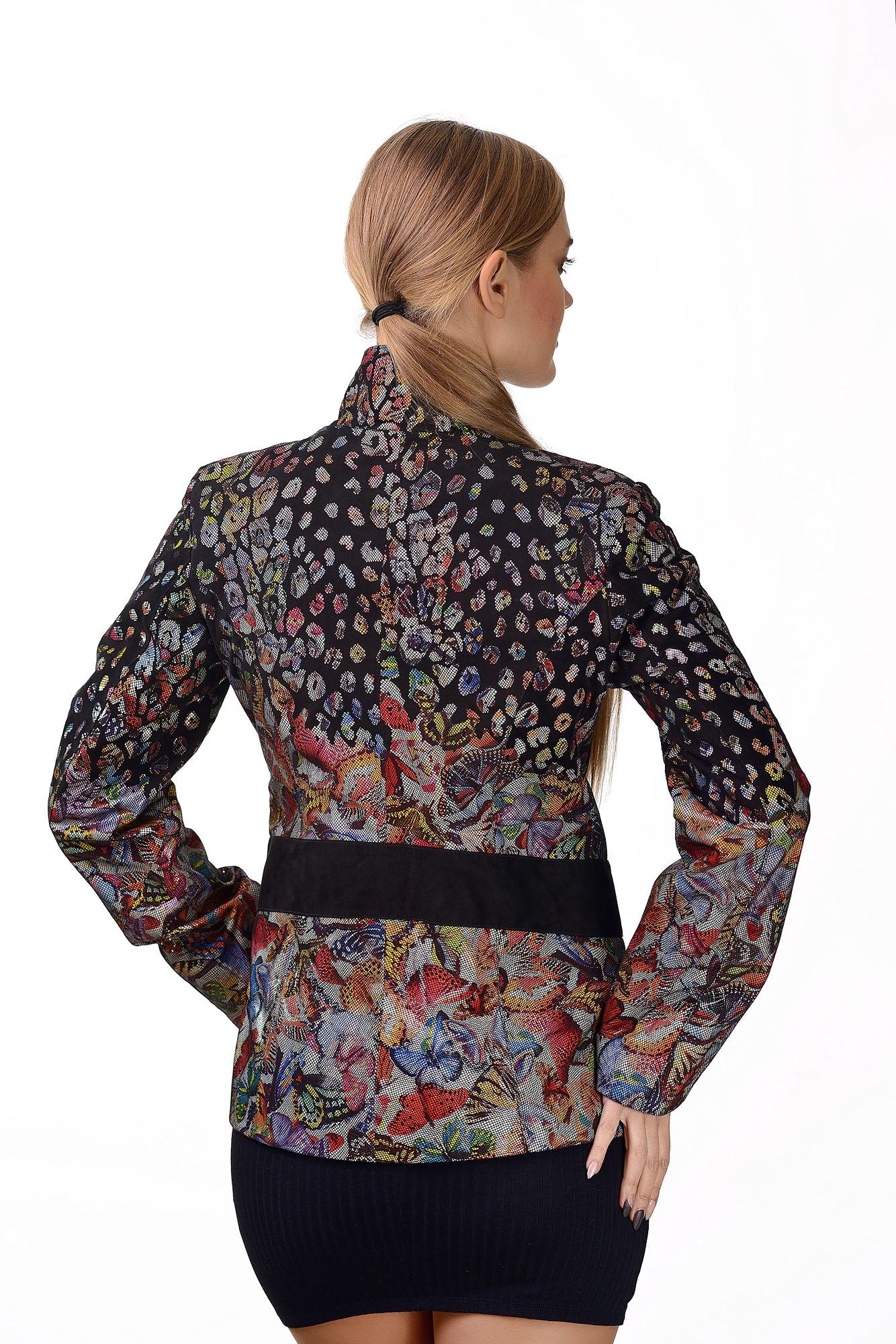 Женская кожаная куртка2383