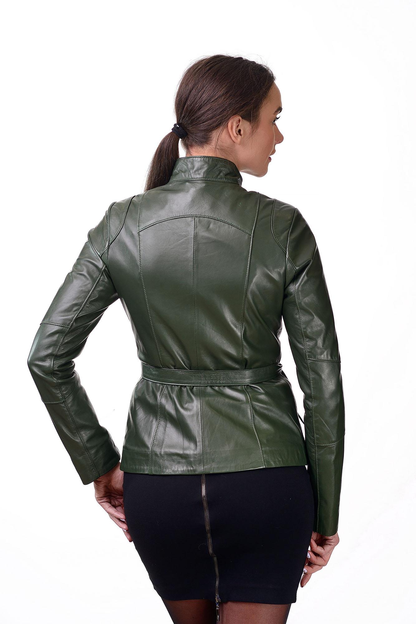 Женская кожаная курткаM=159(2)