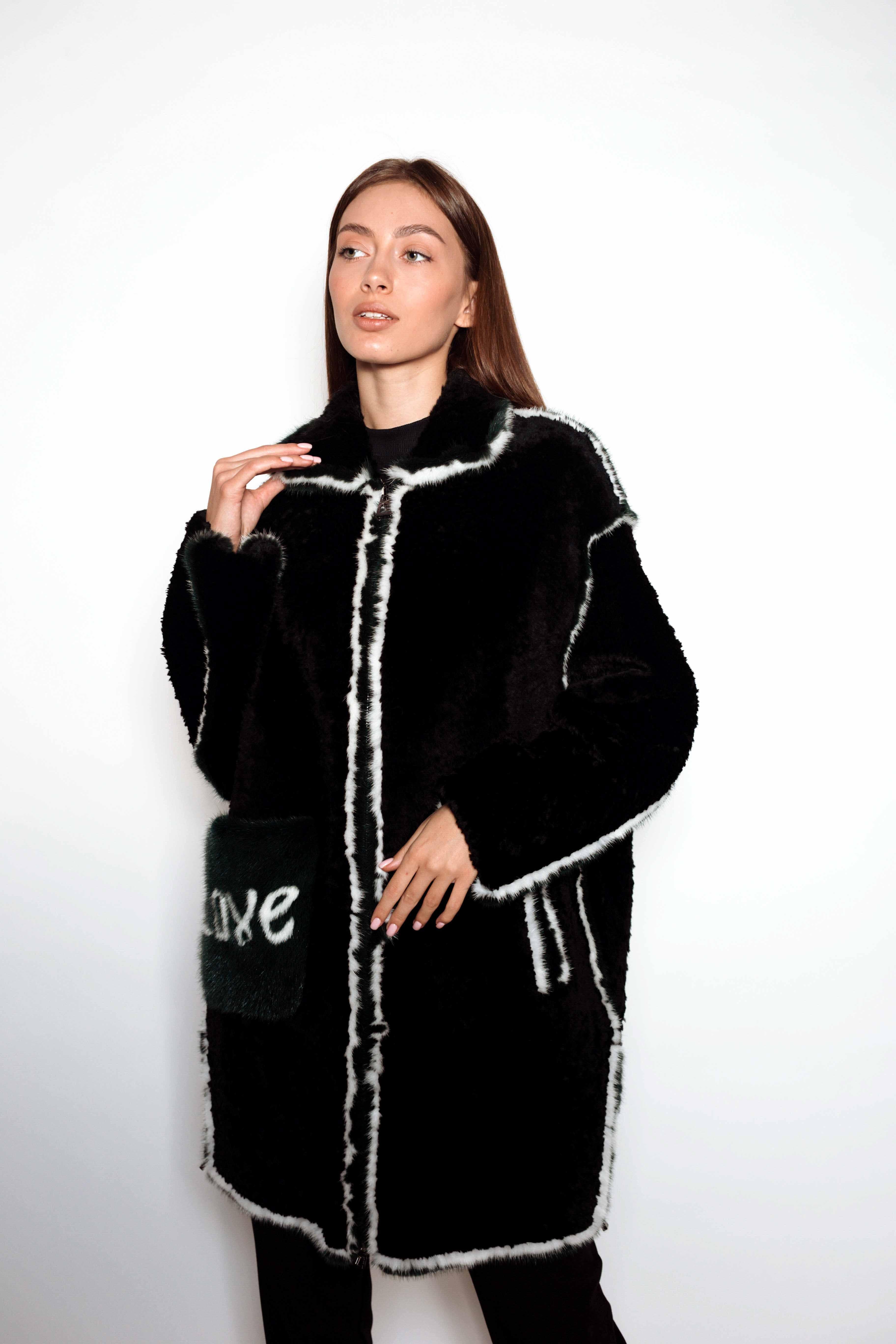 Женская шуба КК-10226