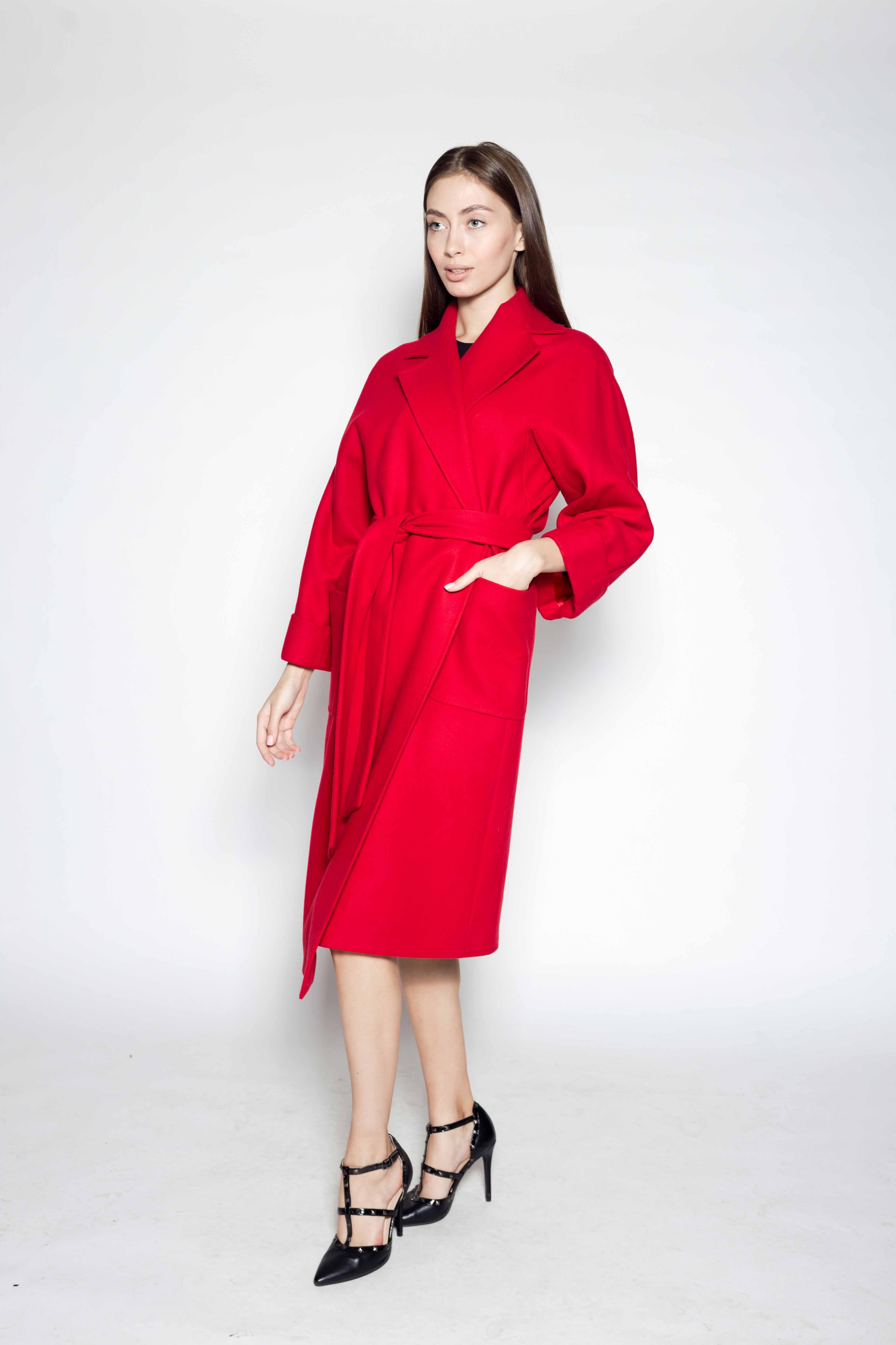 Женское пальто 8162
