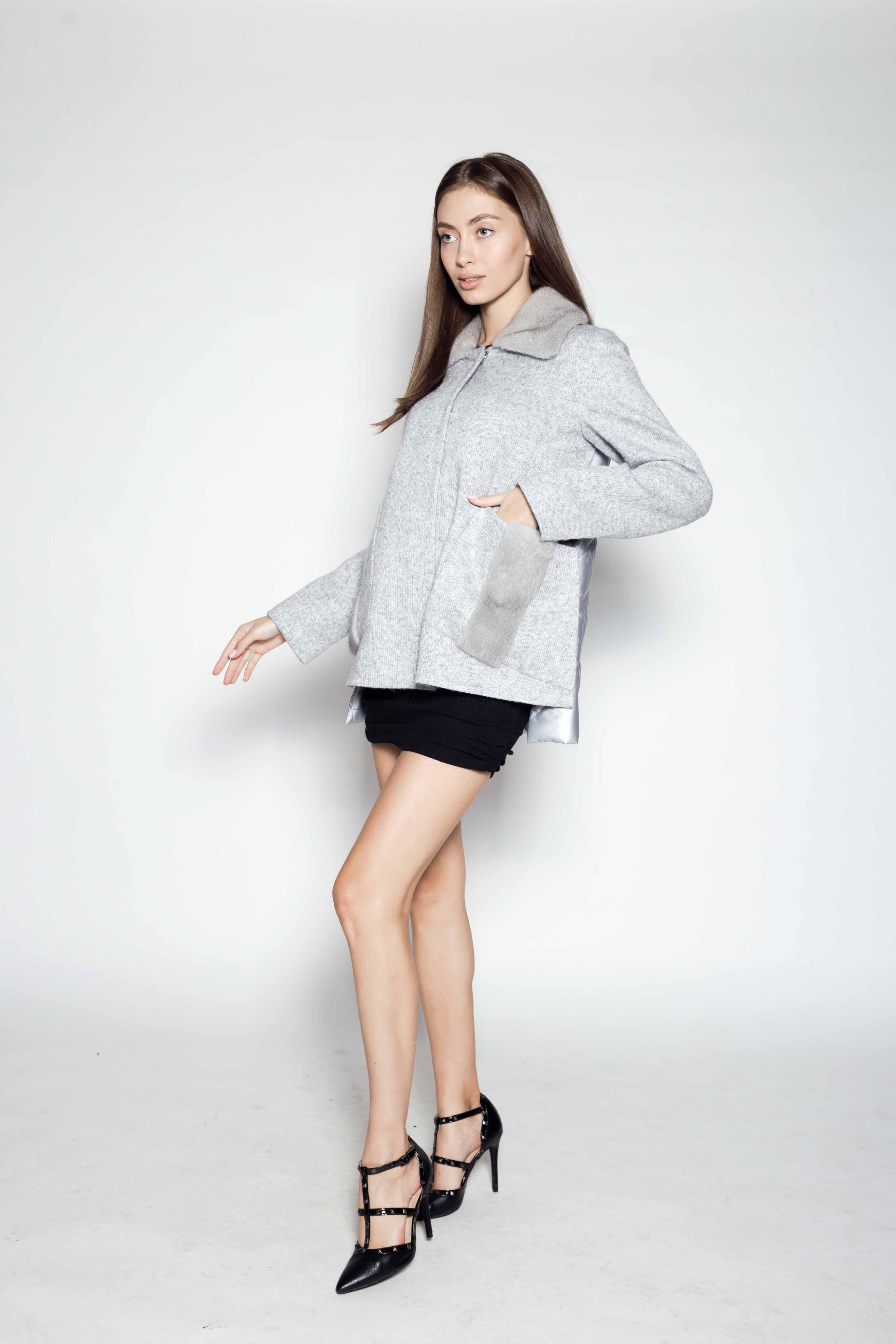 Женское пальто 8106