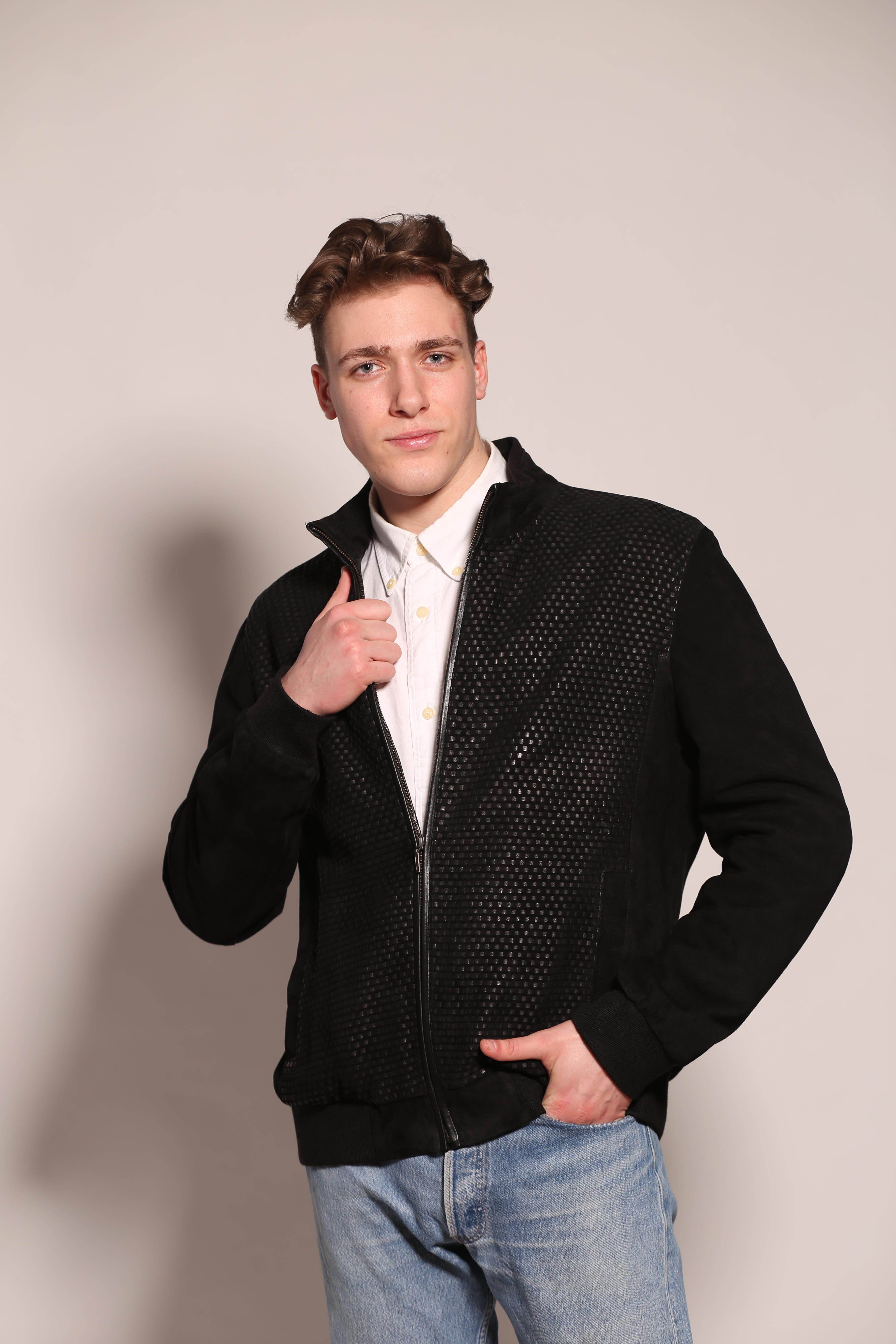 Мужская замшевая куртка 7460