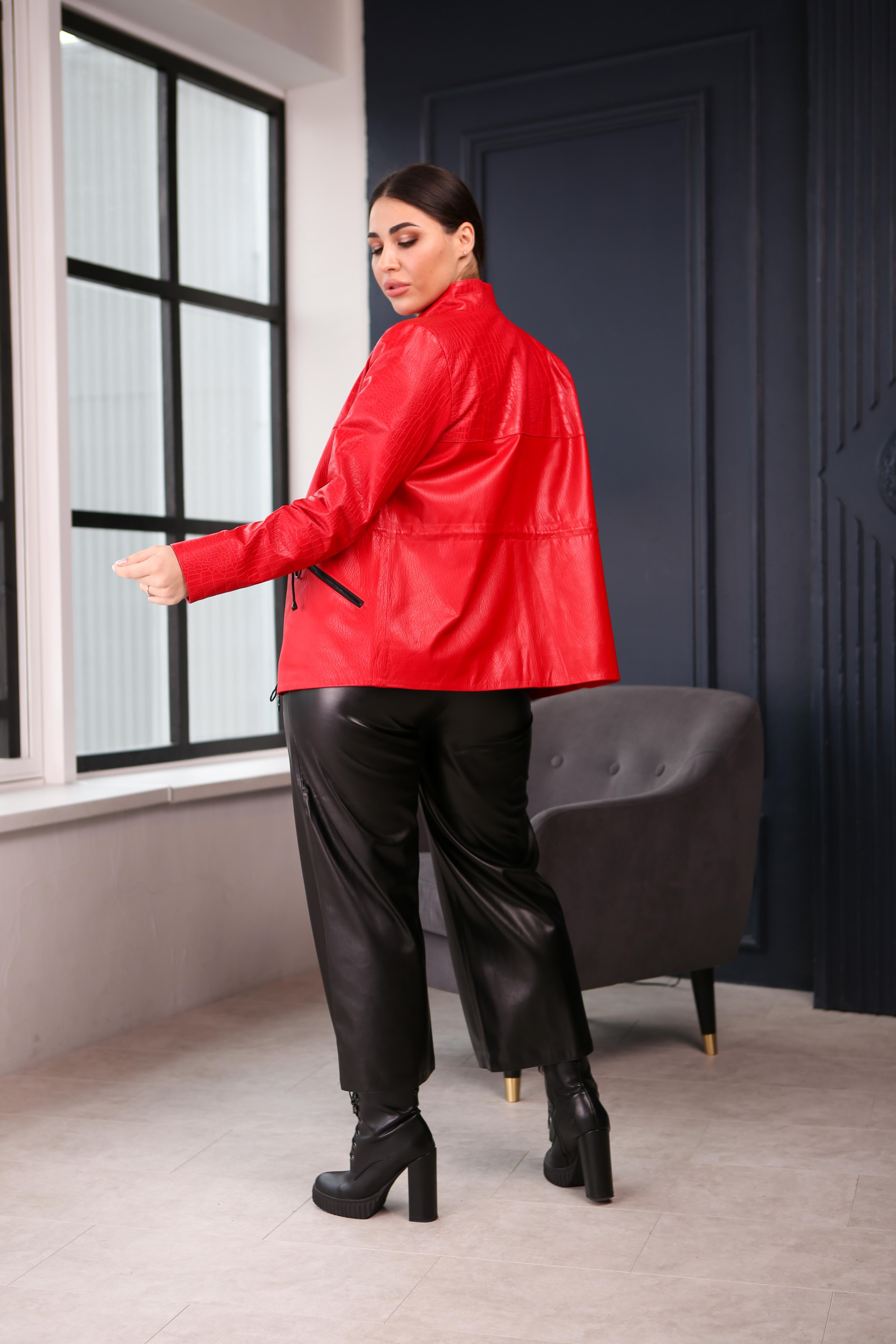 Женская кожаная куртка A-2