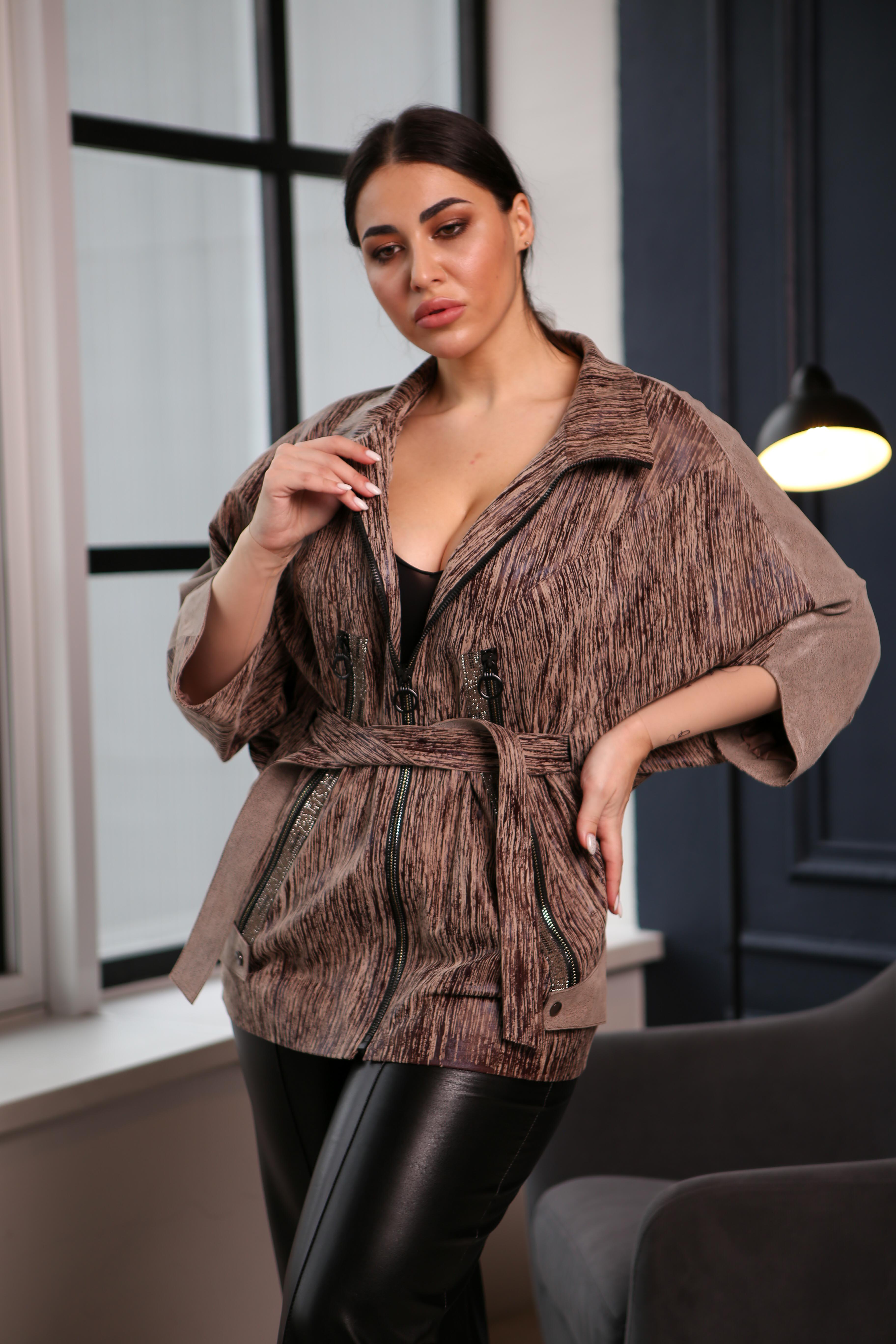 Женская удлиненная  куртка 20Z-360-01