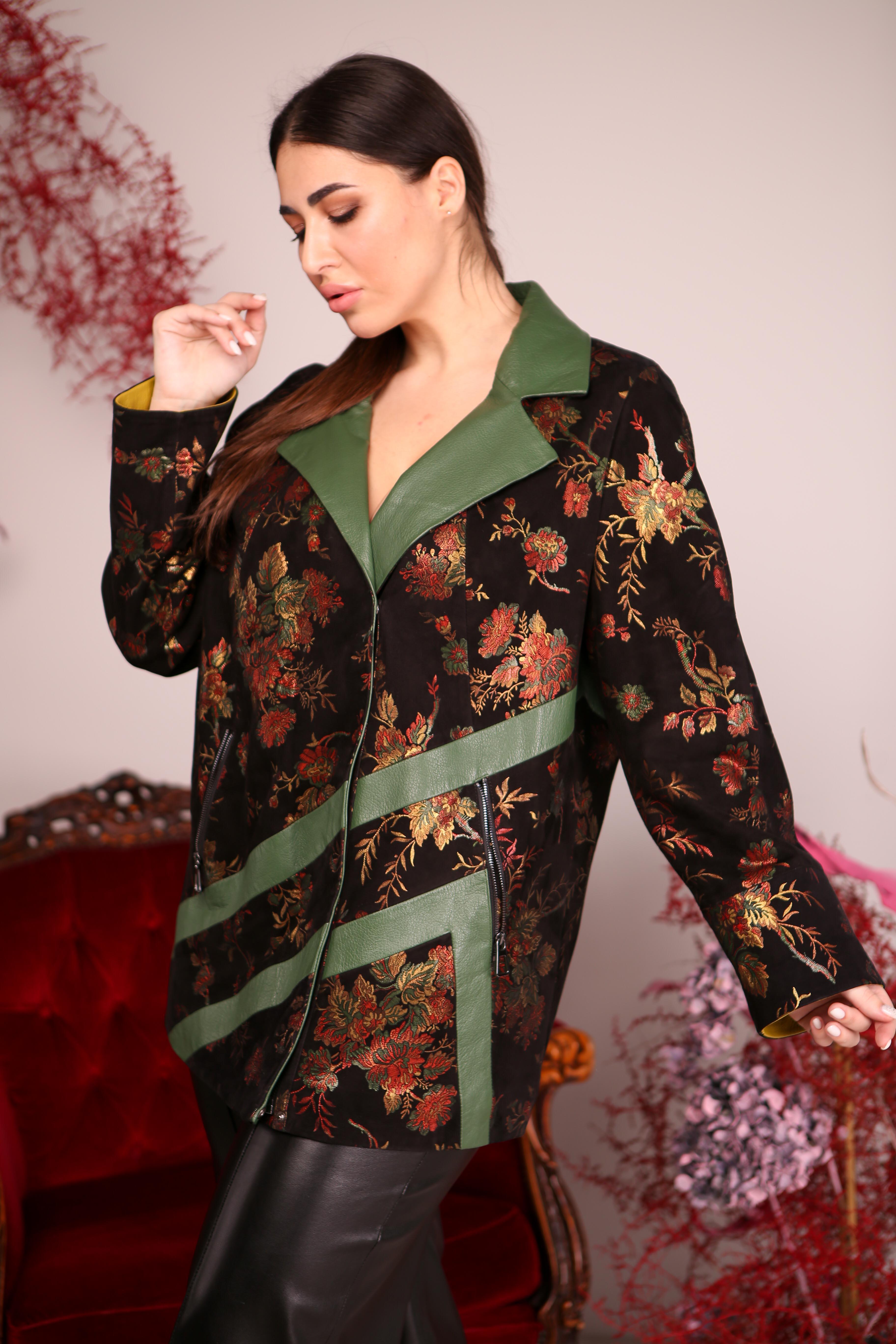 Женская удлиненная куртка Z-1898